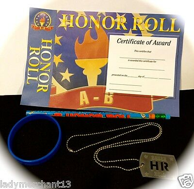A-B HONOR ROLL RECOGNITION SET/Lot of 20/All New!/Great Buy!