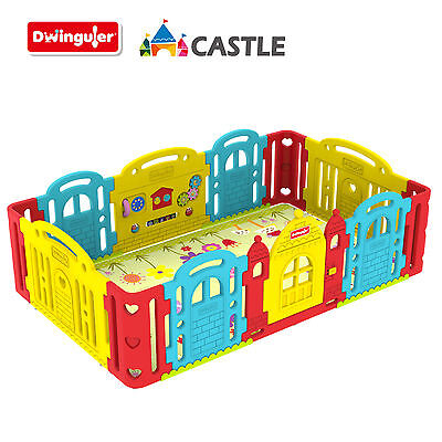 Dwinguler Castle / Baby Playpen / Play yard / Play room - Rainbow - New Arrival