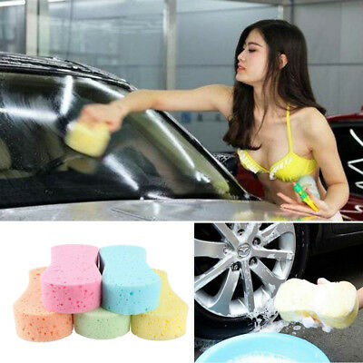 Auto Car Wash Sponge Glass Care Cleaning Tool Sponges Washing Block 5 Colors HOT