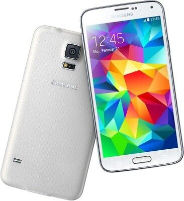 samsung galaxy s5 sm g900f white android smartphone handy. Black Bedroom Furniture Sets. Home Design Ideas