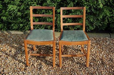 Pair of Ladder Back Dining Chairs - Ideal Upcycle Project