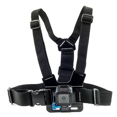 Chest Strap For GoPro HD Hero 4 3+ 3 2 1 Action Camera Harness Mount Adjustable