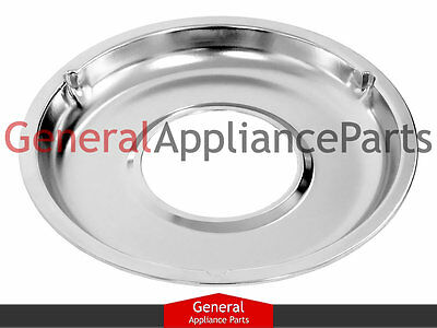 "GE Roper Gas Stove Range Cooktop 8 3/4"" Burner Chrome Drip Pan Bowl WB31K5026"
