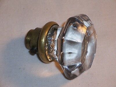 Antique Mortise Lock Glass Door Knob Vintage Handle Hardware Replacement