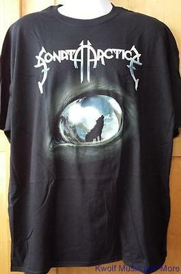 """SONATA ARCTICA T-Shirt  """"Wolves Die Young""""  Official/Licensed Size/XXL  NEW"""