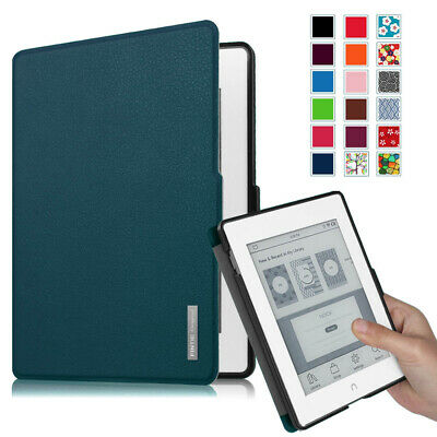 For Barnes & Noble NOOK GlowLight Plus eReader Leather Case Cover (BNRV510) 2015
