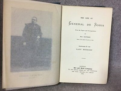 Antique Book General de Sonis translation by Lady Herbert Art and Book Co 1891