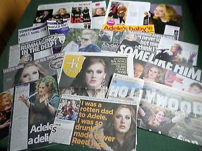 Adele - Music Artist - Clippings /cuttings Pack