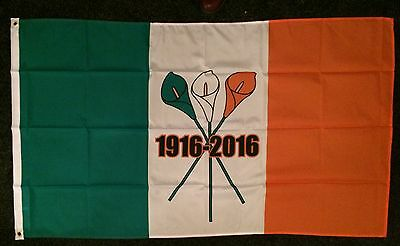 1916 2016 Lily 100th Easter Rising Flag Nationalist Ireland IRISH REPUBLICAN irb