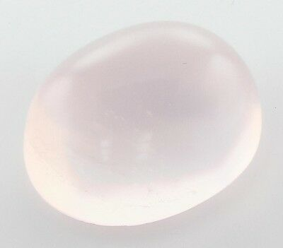 INHABITUEL 12x10mm OVALE COUPE CABOCHON BRÉSILIENNE NATURELLE QUARTZ ROSE