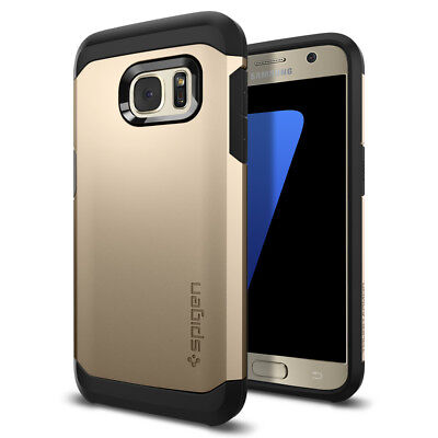 Spigen® [Tough Armor] Shockproof TPU Case Protective Cover For Samsung Galaxy S7
