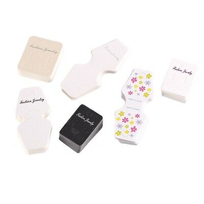 100pcs dangle earring Cards Tag Jewelry Display paper packing  31*45mm