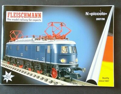 Fleischmann Model Railway for Experts 2007/08.