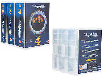 STARGATE SG-1  1-10 1997-2008: COMPLETE+ARK of TRUTH+CONTINUUM SG1 R2 DVD not US