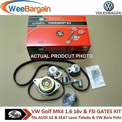 VW GOLF IV 1.6 16V FSI GATES KP25565XS-2 Timing Cam/Belt Kit with Water Pump