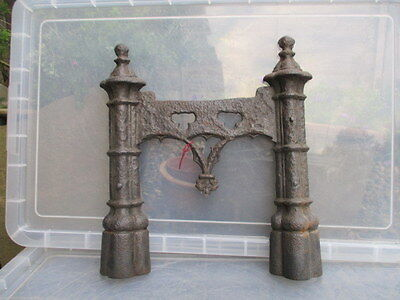 Victorian Cast Iron Boot Scraper Gothic Period Architectural Antique Old Vintage