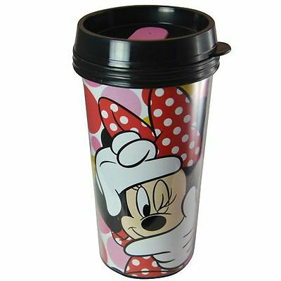Disney Minnie Mouse 16oz Coffee  Double Walled Travel Tumbler