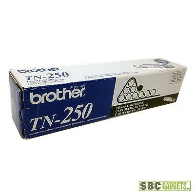 [NEW] Genuine Brother Black Toner Cartridge (Model: TN-250)