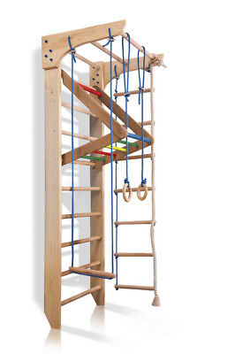 Ladder Swedish Sport Gym Wall bars Kid playground Baby Play Home Climbing Toys