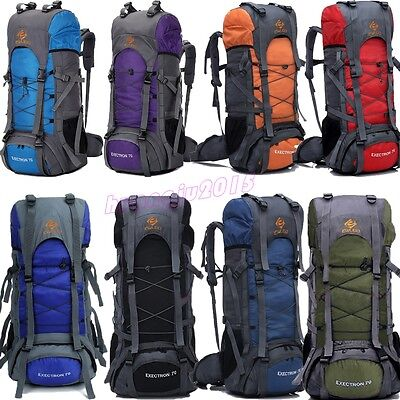 70L Outdoor Hike Camping  Military Rucksacks Backpack Tactical Travel Large Bag