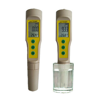 Digital LCD PH Meter Soil Aquarium Pool Water Wine Urine Pen Tester Analyzer NEW