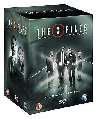 THE X-FILES 1-9 1993-2002 COMPLETE TV Season Series + 2 Movies NEW R2 DVD not US