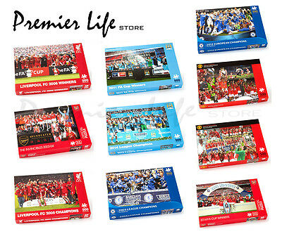 Official Football FC 500 Piece Puzzles - Latest Designs