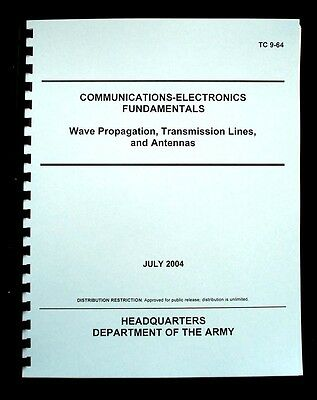 Wave Propagation, Transmission Lines and Antennas Army Manual