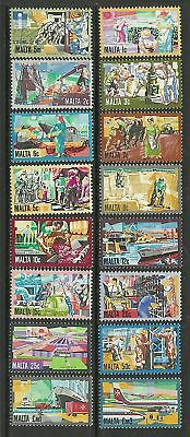 MALTA. 1981. Definitive Set. SG: 667/82. MLH