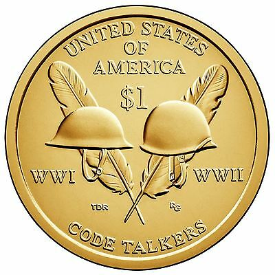 2016 P & D Native American (Sacagawea) Dollar Gem Bu from Mint rolls In Stock
