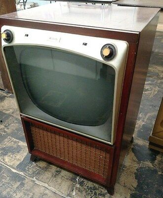 RARE 1950s VINTAGE CBS COLUMBIA TELEVISION SET RECEIVER  (CBS)