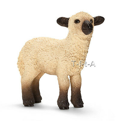 FREE SHIPPING | Schleich 13682 Shropshire Lamb / Sheep Figurine - New in Package