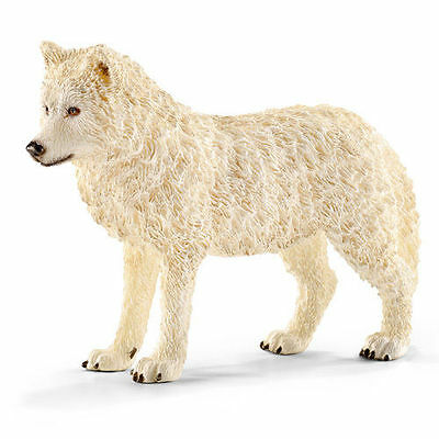 FREE SHIPPING | Schleich 14742 Arctic Wolf Toy Figurine - New in Package