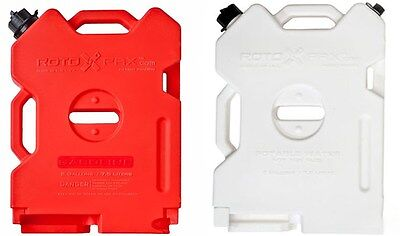 Set of 2 Rotopax 2 Gallon Gas & Water Fuel Pack Fits Jeep's & ATV UTV Polaris