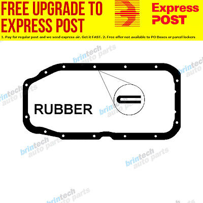 1987-1991 For Nissan Pulsar N13 18LF Holden Engine Oil Pan Sump Gasket 5