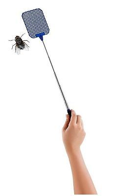 1x Fly Swatter Telescopic Insect Swat Killer cockroaches  Bug Long  from SYDNEY