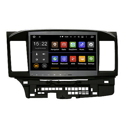 "10.2"" Android 5.1.1 Lollipop Car Stereo GPS Radio for Mitsubishi Lancer EVO X"