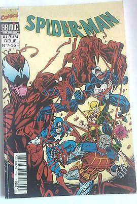 Album relié V.I SPIDER-MAN 7 (Marvel SEMIC france) 160 pages de MAXIMUM CARNAGE