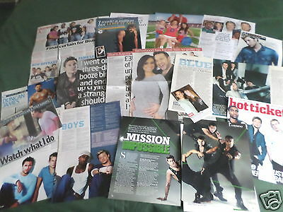 Blue - Pop Group -  Music- Clippings /cuttings Pack