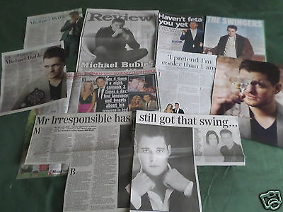 Michael Buble -  Music- Clippings /cuttings Pack