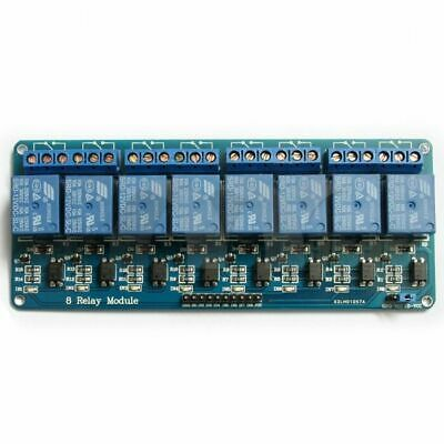 12V DC Relay Modules - 1, 2, 4 and 8 way Opto Isolation arduino pic pi avr NewUK