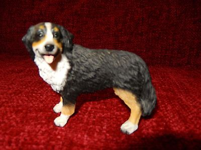 BERNESE MOUNTAIN DOG Hand Painted Canine Collectable Figurine Statue