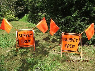 Survey Road Signs