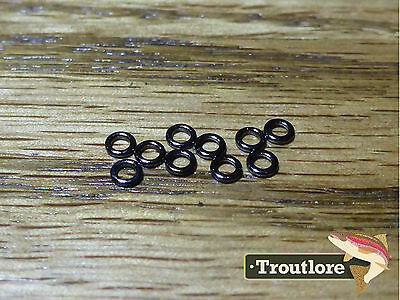 10 x TIPPET RINGS 2mm for LEADER EXTENSIONS - NEW FLY FISHING ESSENTIAL
