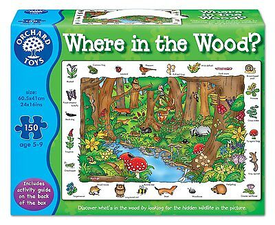 Orchard Toys Where in the Wood 150 Piece Puzzle