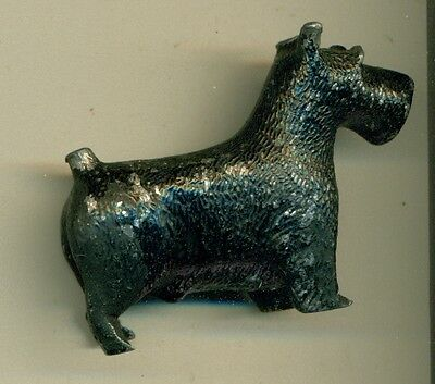 Vintage Cast Iron Miniature Scottish Terrier Paperweight