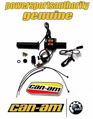 2012-2017 CAN-AM Outlander Renegade Heated Hand Grips Throttle Combo 715003250