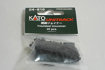 Kato n gauge Insulated UniJoiner 20 pcs 24-816 Unitrack