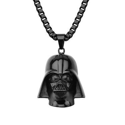 Star Wars 3D Darth Vader Stainless Steel Necklace