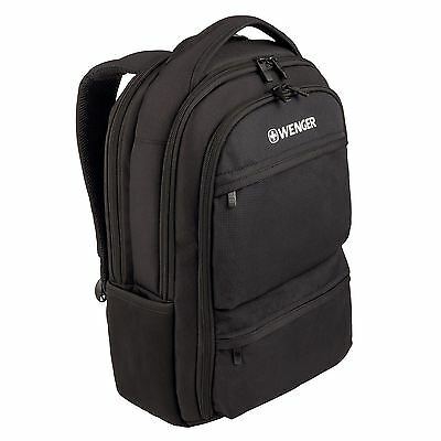 """Wenger Swissgear Fuse Backpack Bag Case For 15"""" 15.6"""" Up to 16 Inch laptop"""